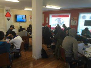 École de conduite Vision plus – Salle de cours